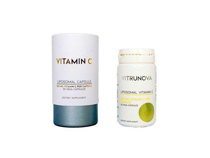 Liposomal Vitamin C 250mg 30 kapslí