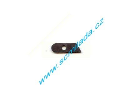 Nůž s dírkou pro 4-nitný overlock SINGER