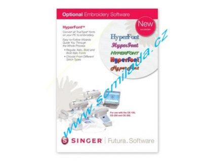 Softwarový program HyperFront pro šicí stroj FUTURA CE-150,250,350