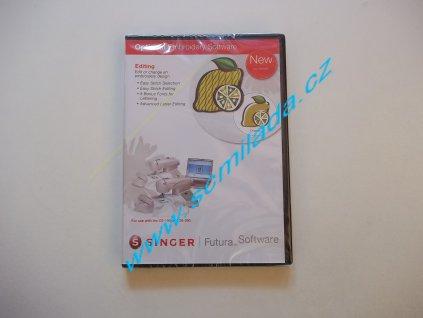 Softwarový program Editing pro šicí stroj FUTURA CE-150,250,350