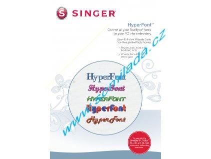 Softwarový program HyperFront pro šicí stroj FUTURA  XL 400, 550