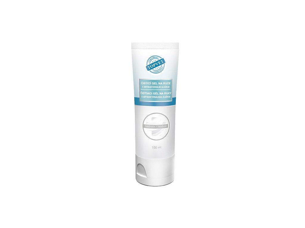TOPVET Antibakteriální čis.gel na ruce Hedvábí 100ml