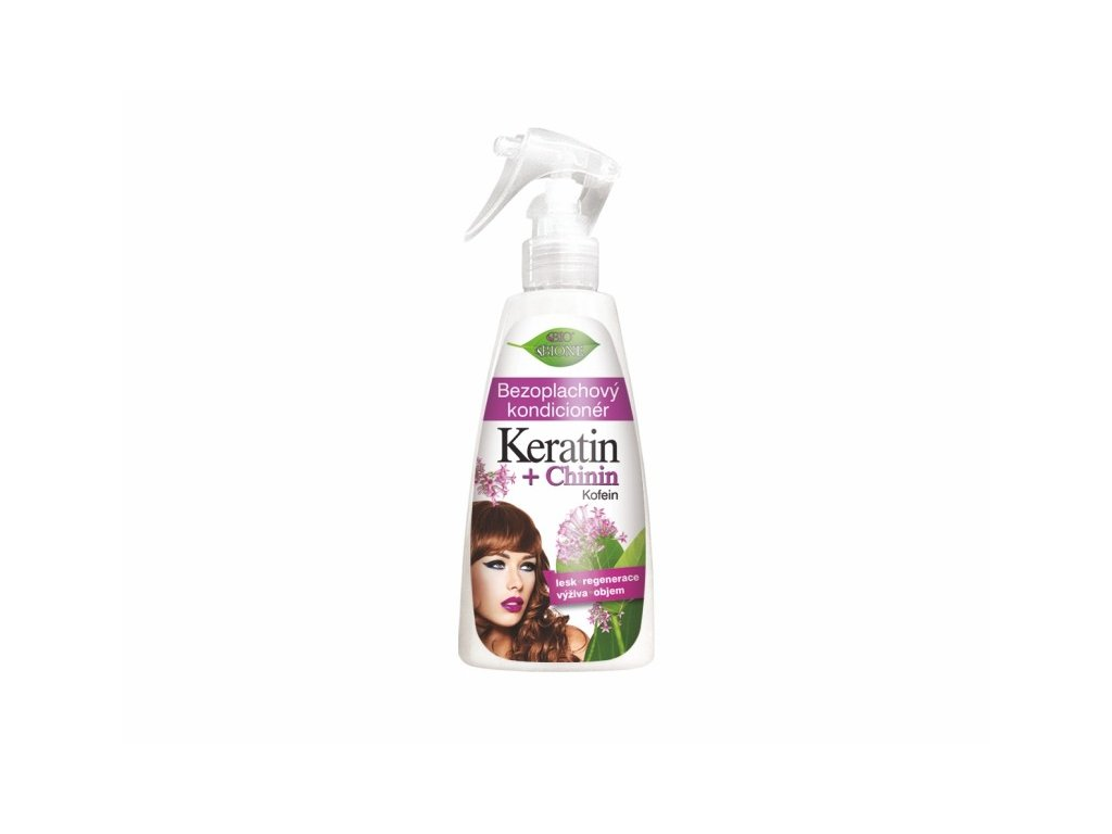 bezoplachovy kondicioner keratin chinin 260 ml 950