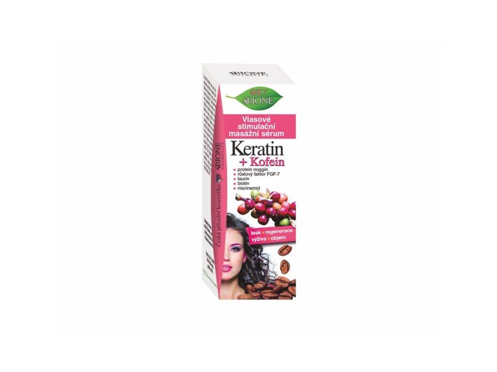 vlasove stimulacni masazni serum keratin kofein 215 ml 956