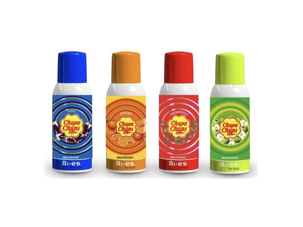 Chupa chups deodorant(100ml)-různé druhy