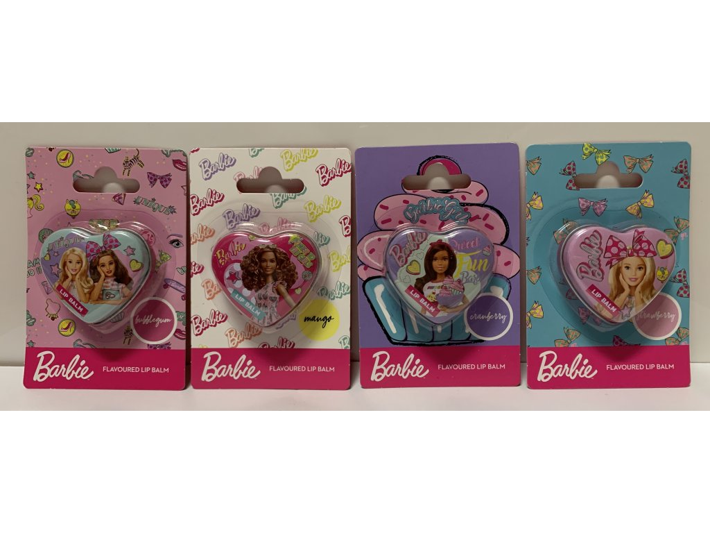 Barbie balzám na rty 7,5g