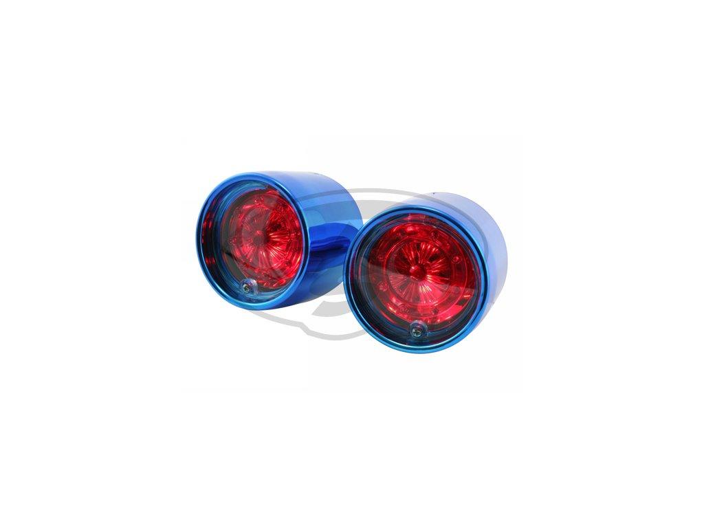 Zadní světlo STR8, Lexus Style, Aprilia SR50 Stealth, modrá