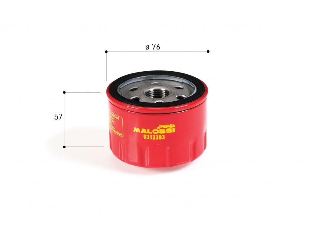 Olejový filtr Malossi, Aprilia Gilera Piaggio 400-500ccm