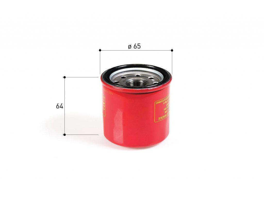 Olejový filtr Malossi, Honda 300-600, T-Max od 2017