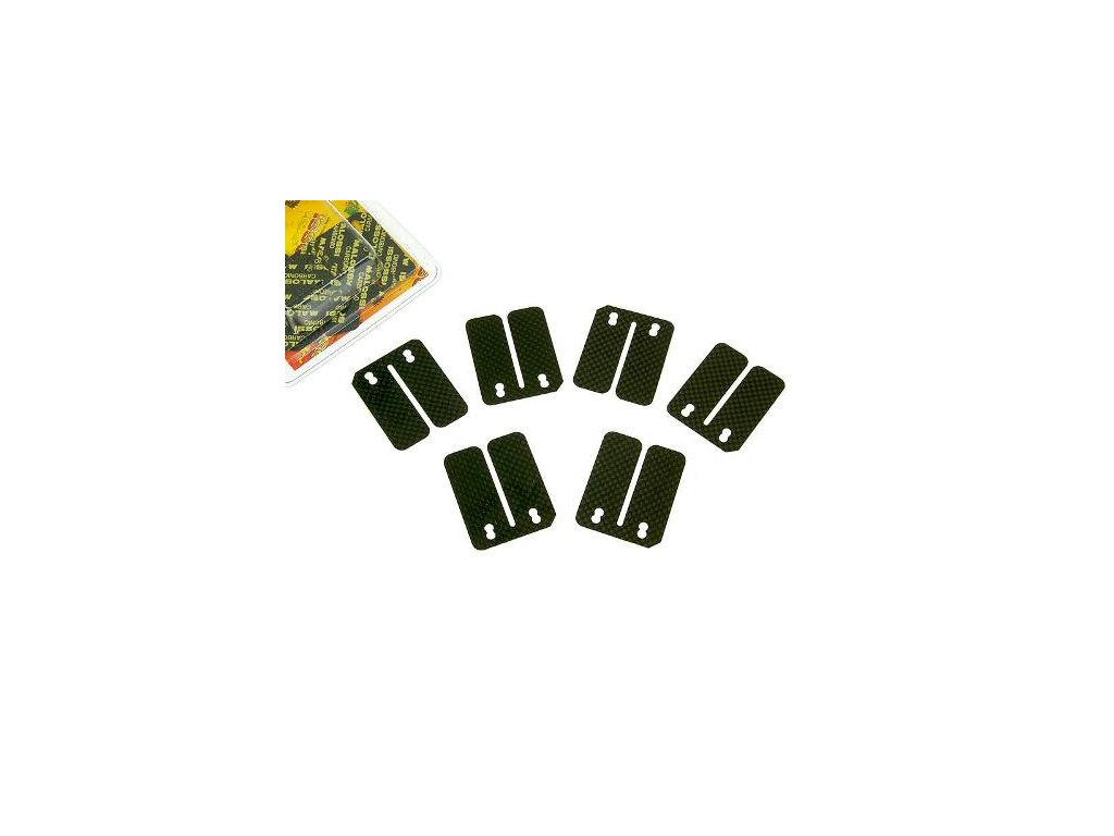 Náhradní karbonitové lístky Malossi 6ks 0,30 0,35 0,40 mm VL11