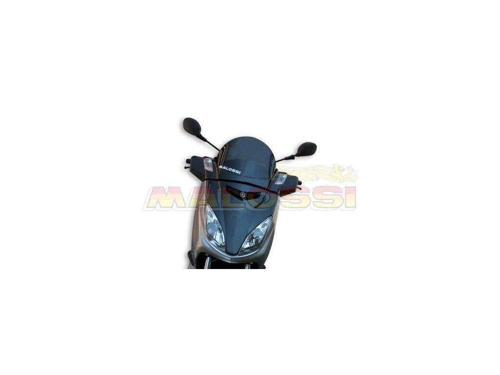 Větrný štítek Malossi MHR, černý, Yamaha X Max