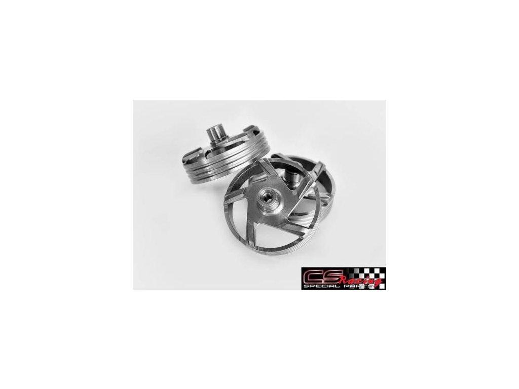 Spojkový zvon twister s drážkama CS Racing
