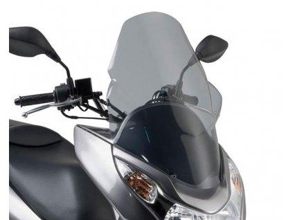 Plexi GiVi, zatmavené, Honda PCX 125 od r.v. 2010 do 2014