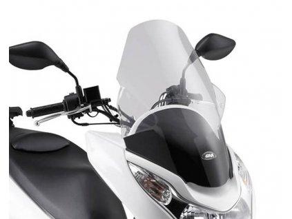 Plexi GiVi, čiré, Honda PCX 125 od r.v. 2010 do 2014