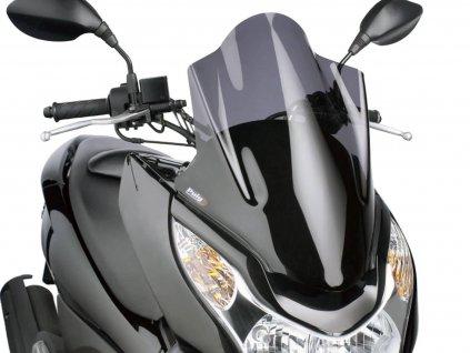 Plexi Puig V-Tech Line Touring tmavě kouřové, Honda PCX 125i 4T 2010- JF28