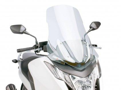 Plexi Puig V-Tech Line Touring čiré, Honda Integra NC700, NC750