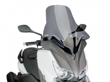 Plexi Puig V-Tech Line Touring tmavě kouřové, Yamaha X-Max 125, 250, 400 2014-
