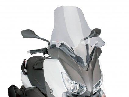 Plexi Puig V-Tech Line Touring kouřové, Yamaha X-Max 125, 250, 400 2014-