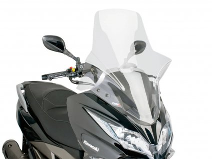 Plexi Puig V-Tech Line Touring čiré, Kawasaki J300