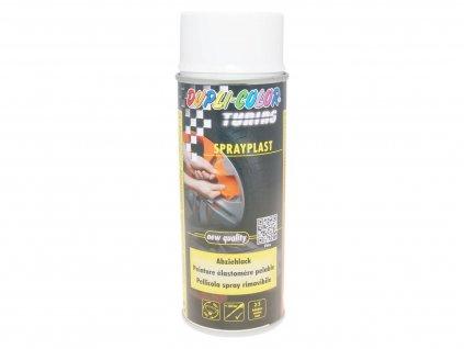 Sloupnutelný lak Dupli-Color Sprayplast bílá lesklá 400ml