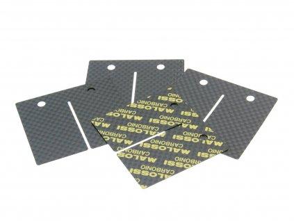 Sada lístků Malossi karbon pro VL17, AM6 klapky