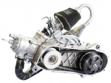 Závodní motor Polini Evolution P.R.E. 100cc 50mm, Piaggio Zip SP, Zip 2 SP s bubnovou brzdou