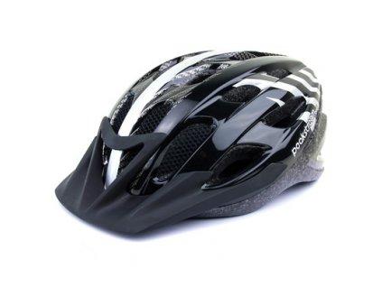 Helma na kolo BASIC černá / stříbrná, 53-58