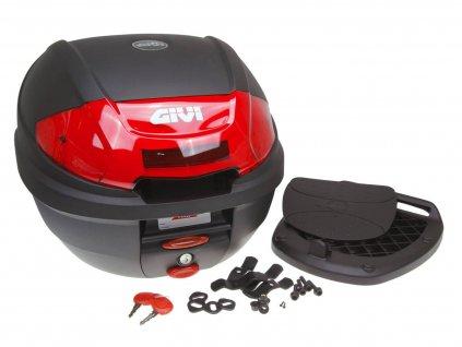 Kufr GiVi E300N2 Monolock, černý 30 L