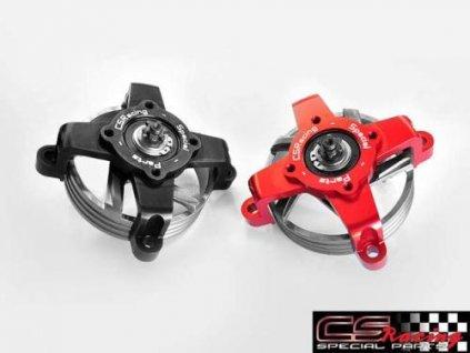 Spojkový zvon včetně držáku bez drážek CS Racing