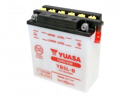 Baterie Yuasa YuMicron YB5L-B bez kyseliny