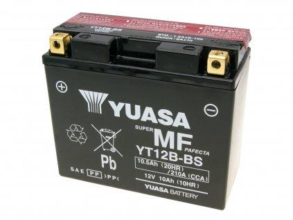 Baterie Yuasa YT12B-BS bezúdržbová