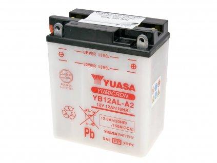 Baterie Yuasa YuMicron YB12AL-A2 bez kyseliny