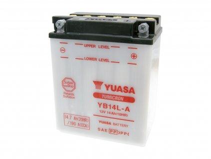 Baterie Yuasa YuMicron YB14L-A bez kyseliny