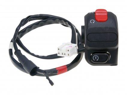 Přepínače na řidítka, Vespa LXV 125, GTV 250