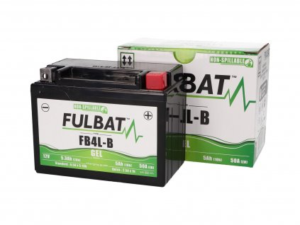 Baterie Fulbat FB4L-B gelová High Power 5Ah
