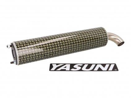 Koncovka Yasuni Scooter žlutý karbon