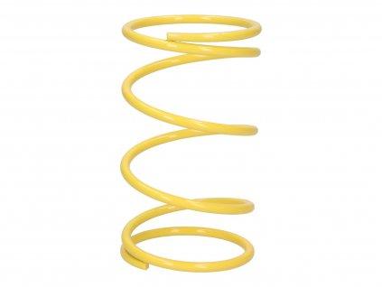 Kontrastní pružina Malossi žlutá +22% Piaggio 125-300cc
