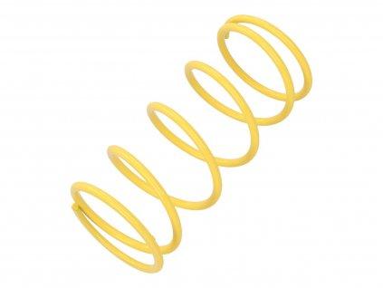 Kontrastní pružina Malossi MHR žlutá K5.5 / L128mm, GY6, Kymco, Honda, Piaggio iGet 125cc, 150cc