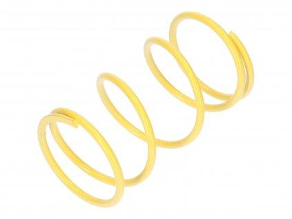 Kontrastní pružina Malossi MHR žlutá K7.3 / L105mm, Honda PCX 125, SH 125