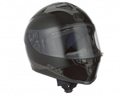 Helma Speeds Integral Race II matná černá velikost XL (61-62cm)