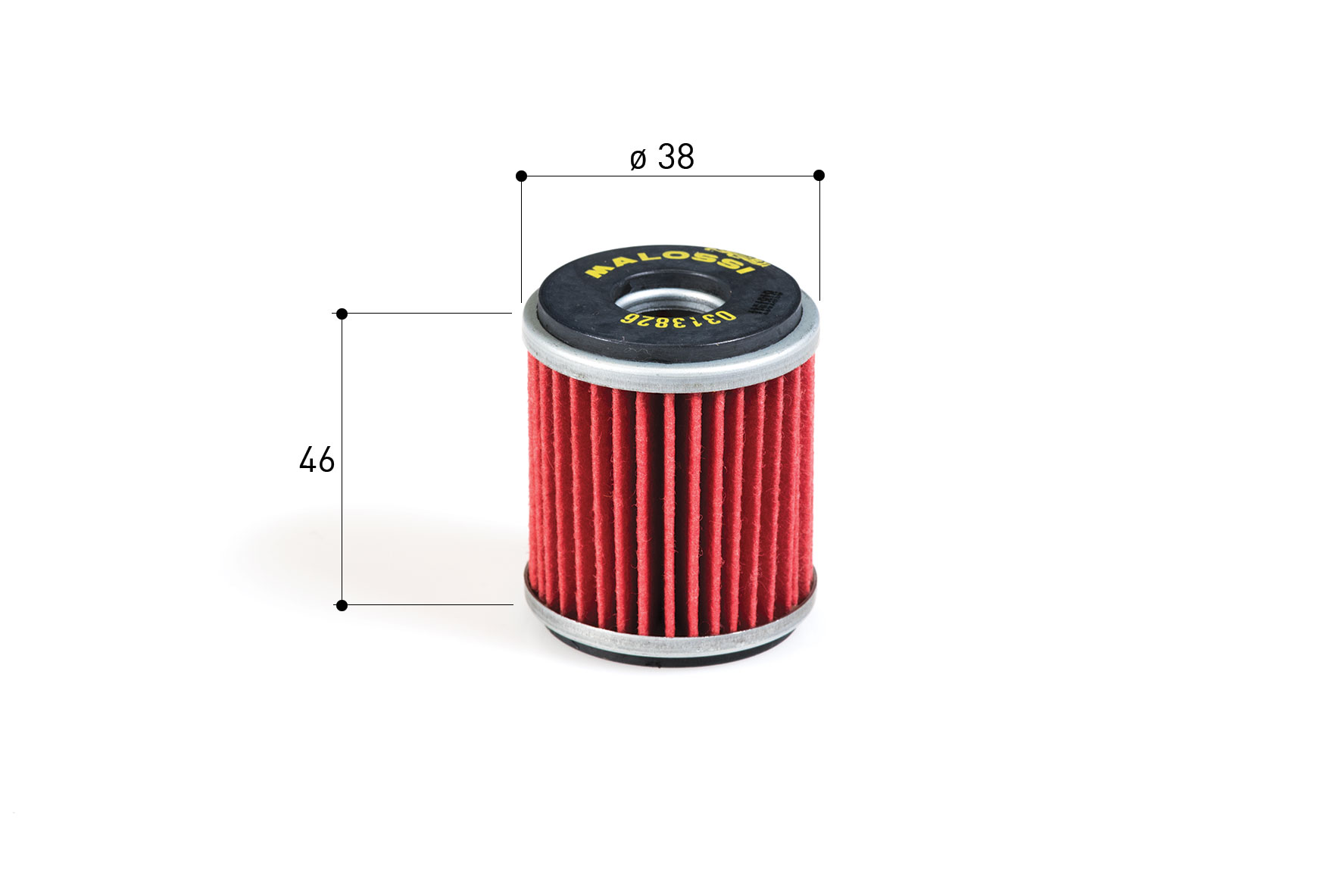 Olejový filtr Malossi, Yamaha X City X Max 125 M.0313826