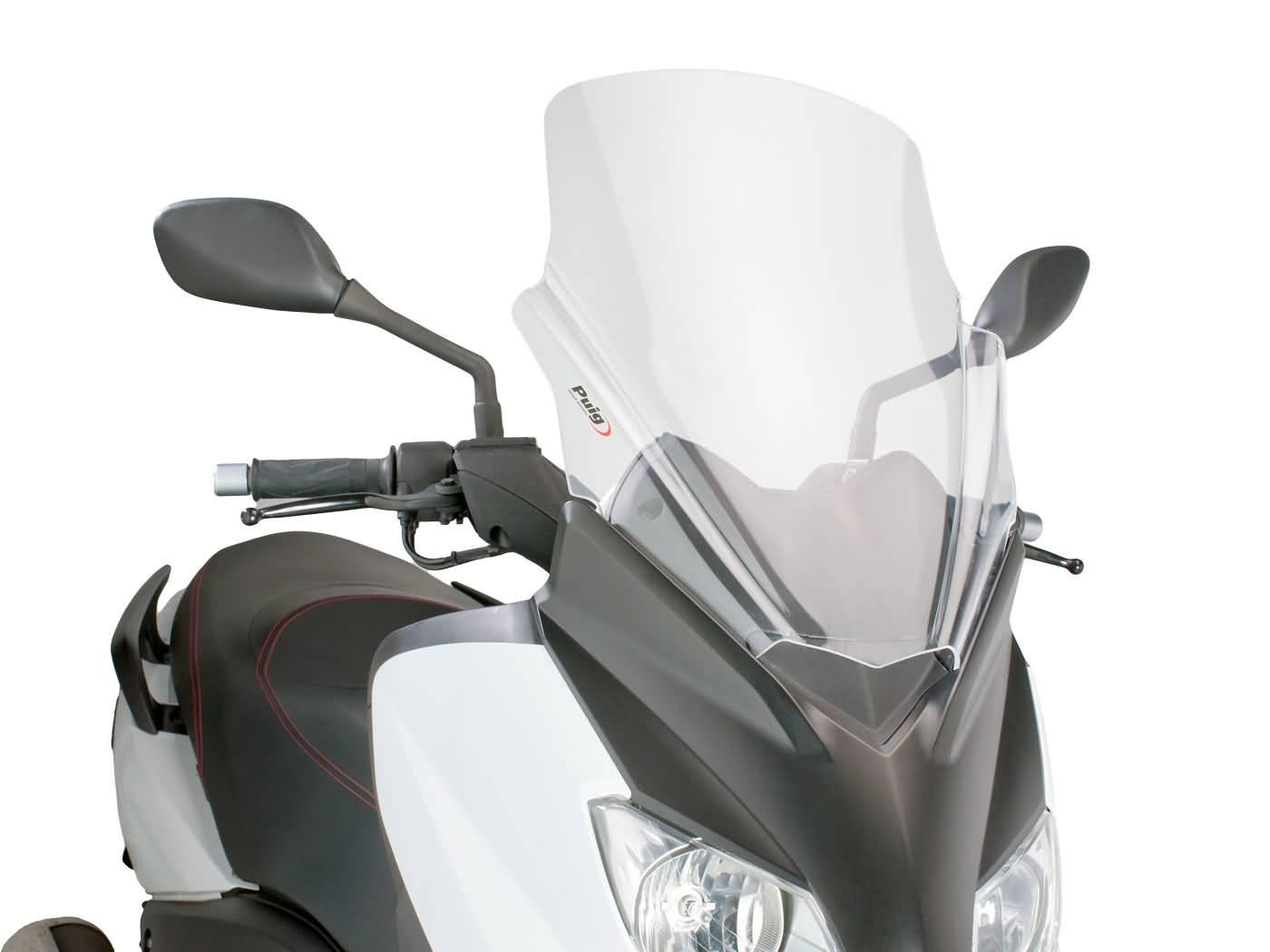 Plexi Puig V-Tech Line Touring čiré, Yamaha X-Max 125 YP125R 10-14 PUI6259W