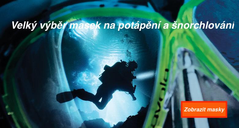 Masky a brýle na potápění a šnorchlování