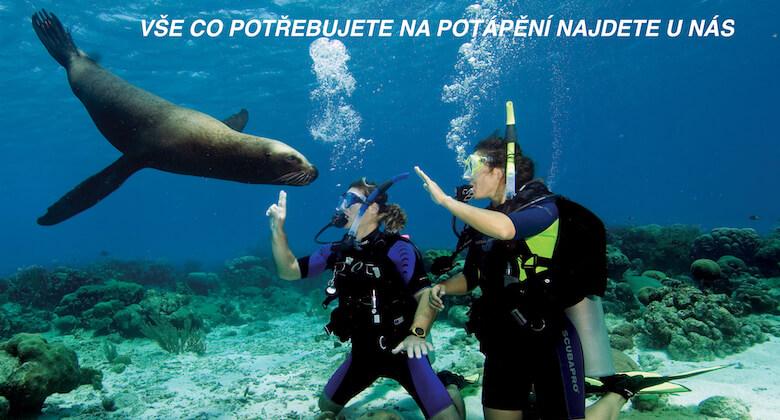 Potápěčské potřeby scubashop.cz