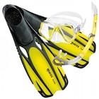 Potápěčské a šnorchlovcí sety - maska, šnorchl, ploutve