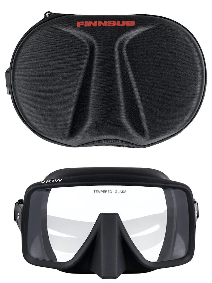 Potápěčská maska Finnsub View černá
