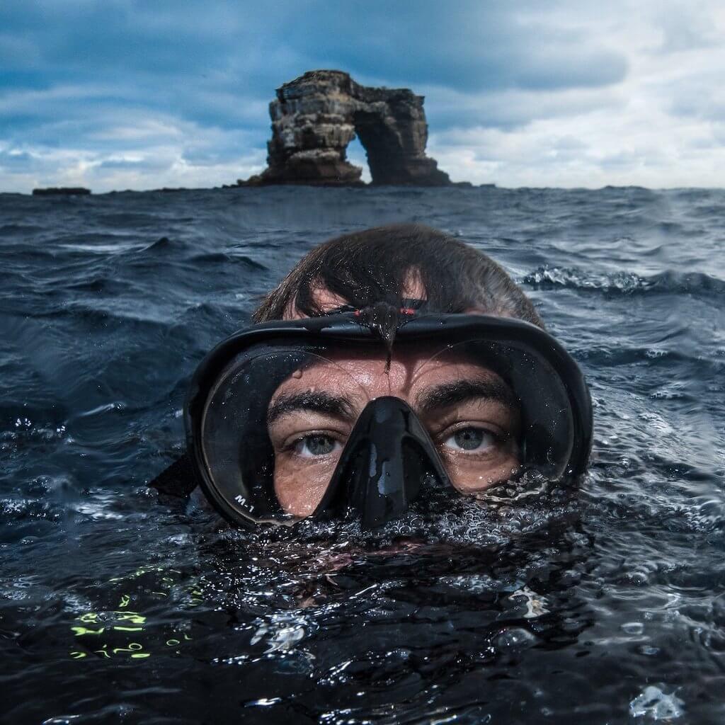 Potápěčská maska Hollis M-1