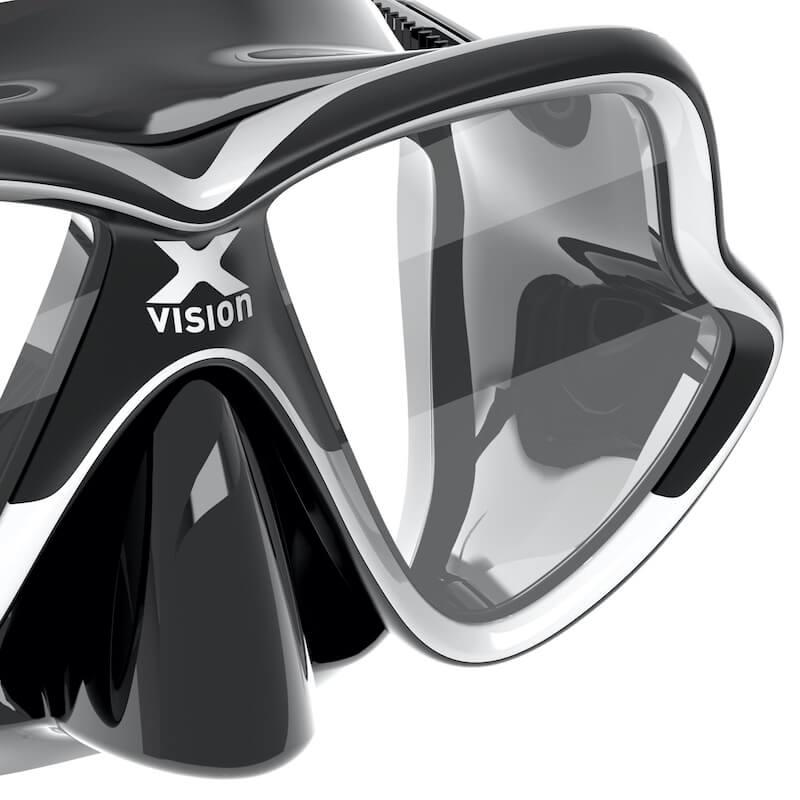Maska-na-potapeni-X-Vision-Mid-black