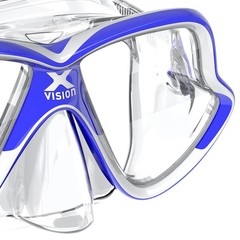 Maska-na-potapeni-X-Vision-Mid-blue
