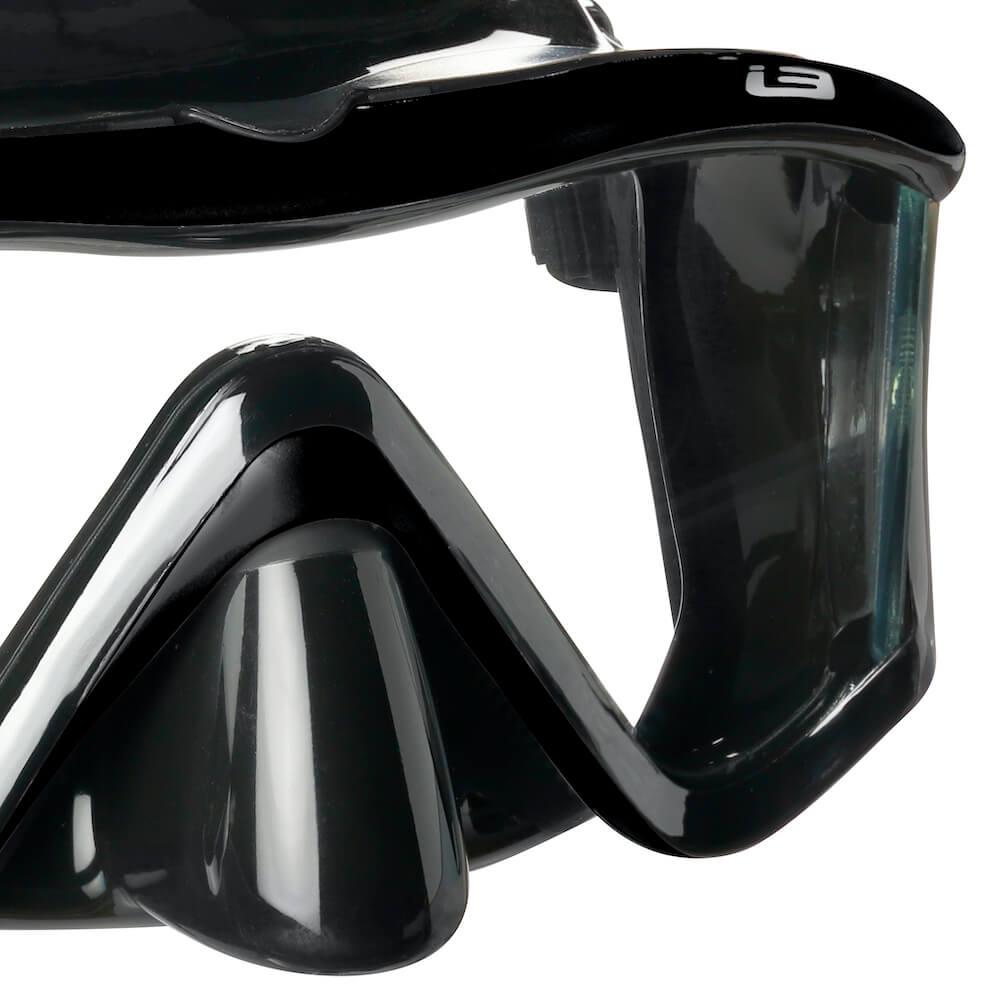 Maska-potapeni-mares-i3-cerna-detail